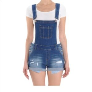 WAX JEAN Plus Size Overalls